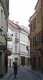 Stikliu Gatve Glassblowers Street Once The Jewish Quarter The