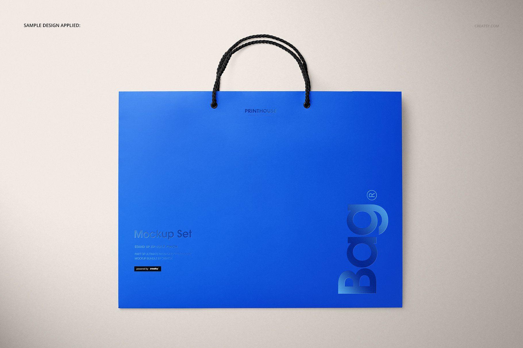 Download Eurotote Bag 2 Mockup Set Business Powerpoint Templates Mockup Creative Market