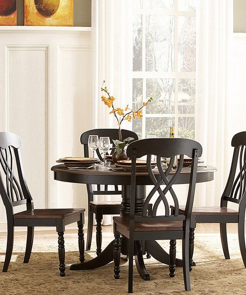Take A Look At This Distressed Cherry Yorkshire Five Piece Dining Set On Zulily Today