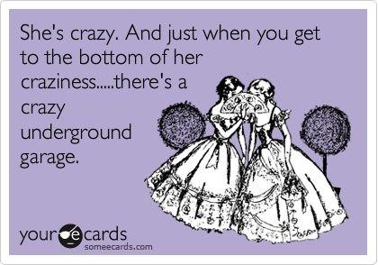 I'm crazy like that.