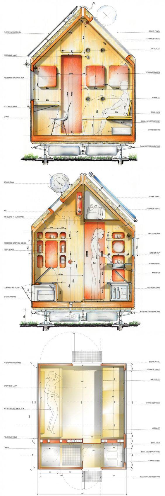 Diogene 6 Mq Arch Renzo Piano Renzo Piano Casa Sull Acqua Architettura