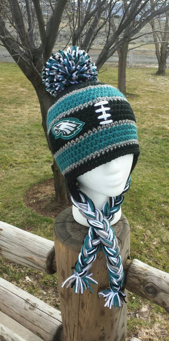 ed2e12ee Philadelphia Eagles Hat Crochet Eagles Hat by AtTheLilyPond | 1 ...