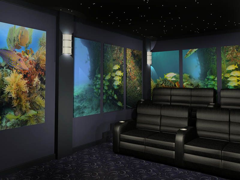 Underwater themed home theater design | hone theater in 2019 ... on bedroom design ideas, affordable home ideas, camera design ideas, media room design ideas, education design ideas, security design ideas, surround sound design ideas, home entertainment, home audio design ideas, pool table design ideas, wine cellar design ideas, speaker design ideas, school classroom design ideas, family room design ideas, bar design ideas, home cinema, nyc art studio design ideas, two-story great room design ideas, whole house design ideas, internet design ideas,