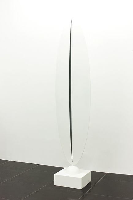 Theorem Osman DINC, Cypress, 2012, Steel, 35x52x219 cm
