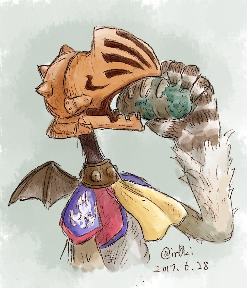 Ffccワンドロ Final Fantasy Crystal Chronicles Yuke Bread