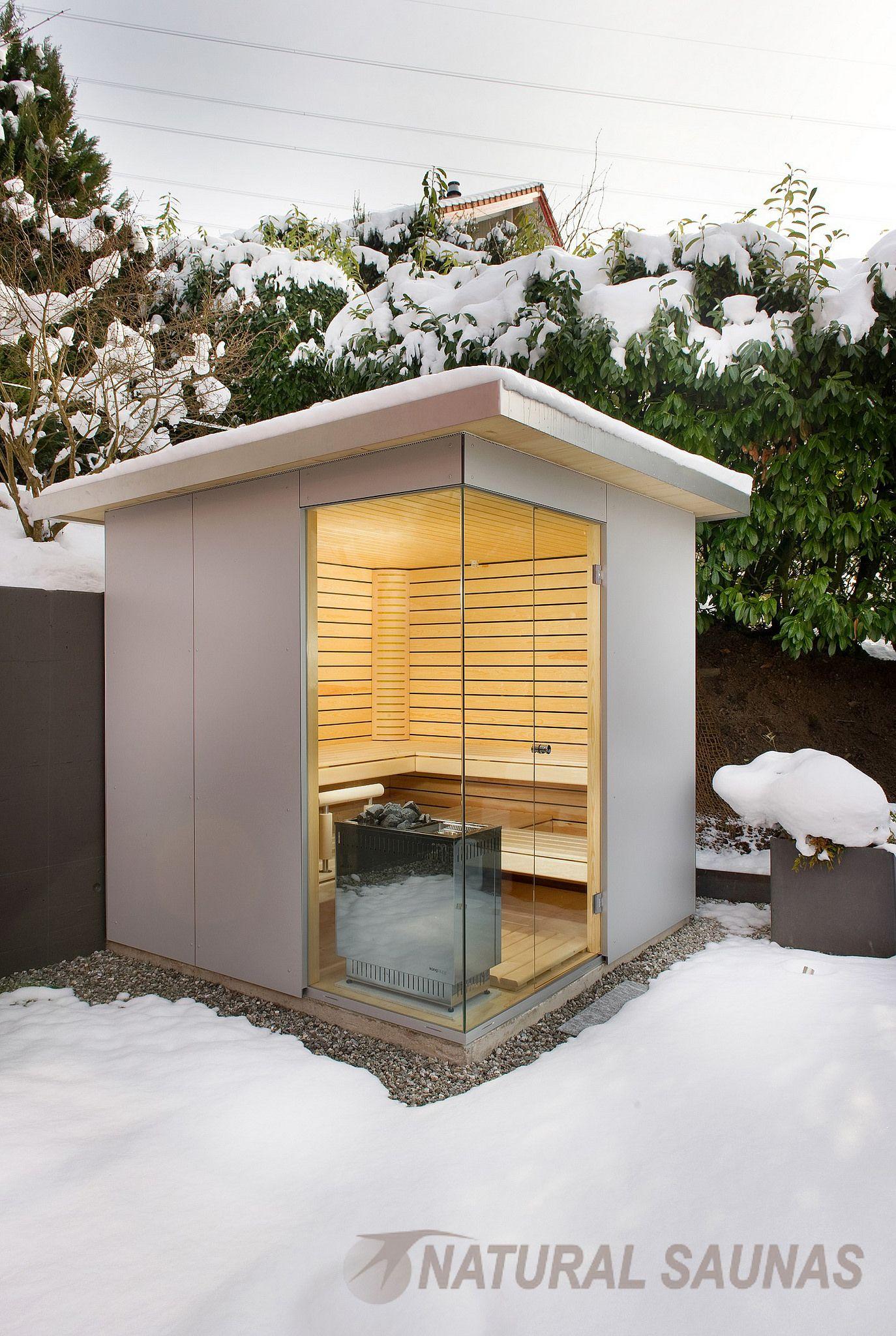 Saunas De Exterior Outdoor Sauna Sauna Design Sauna Room