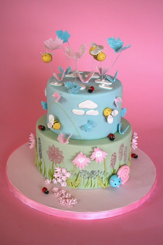 Spring Theme Cake Decorating Ideas With Images Cake Spring