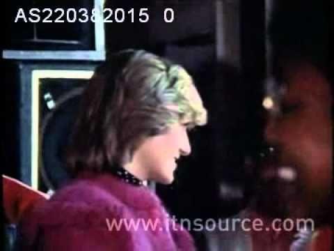 Princess Diana in Huddersfield
