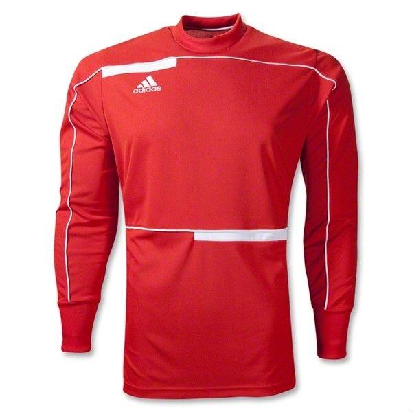 265f87b74 adidas Freno Long Sleeve Goalkeeper Jersey - Red | Cool Soccer ...