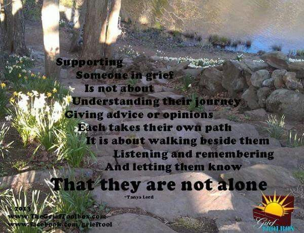 Supporting grief