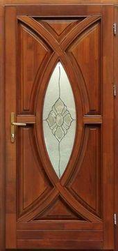 Wooden front door with 5-point lock, Code: 35- Fa bejárati a…