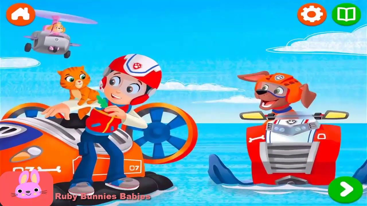 Paw Patrol Nick Jr Full Episodes Itty Bitty Kitty Rescue Read Along P