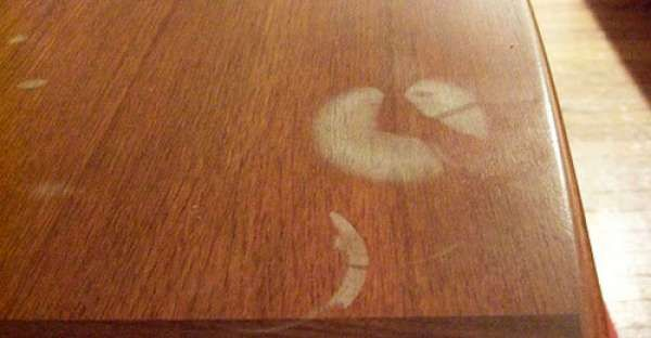 How To Remove A White Heat Stain From Wood Furniture Cleaning