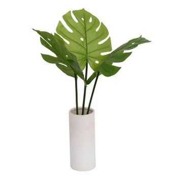Tall Banana Plant in White Vase - Threshold™