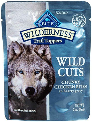 Blue Buffalo Wilderness Trail Toppers Chunky Chicken Bites Dog