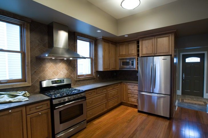 admirable-modern-kitchen-cabinets-chicago-with-natural-wooden ...