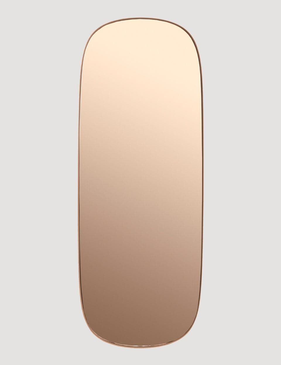 Framed Modern Scandinavian Design Mirror By Muuto Muuto Scandinavian Mirrors Mirror Colorful Interiors