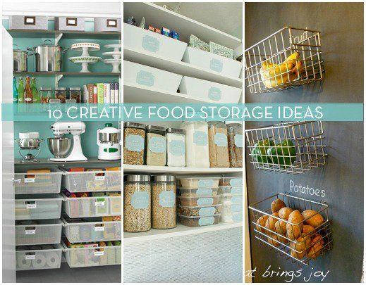 10 Inspiring Ways To Display & Store Food