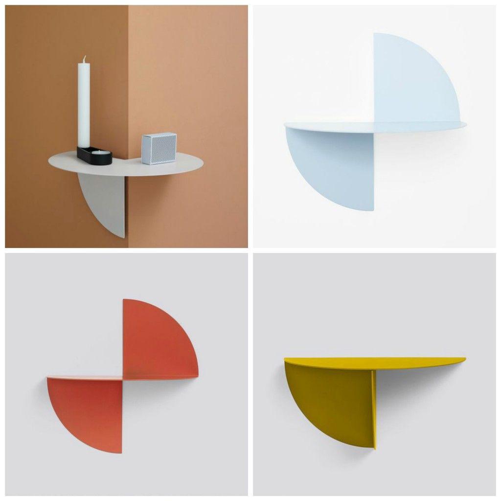 Trend Alert The Tiny Shelf Furniture Design Modern Corner Shelf Design Shelves