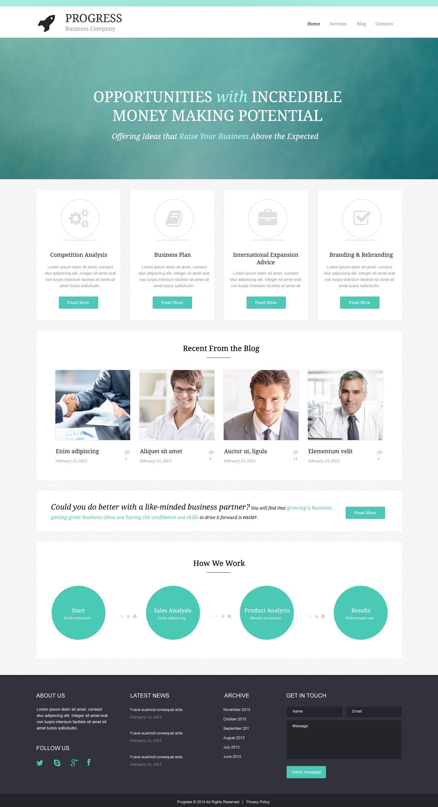 Build Grow Startup WordPress Theme | Wordpress and Premium wordpress ...