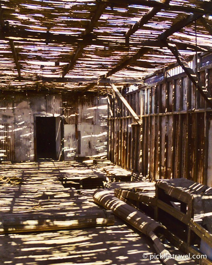 Mining Ghost Town: Humberstone, Chile - abandoned beauty - towns and buildings in the desert