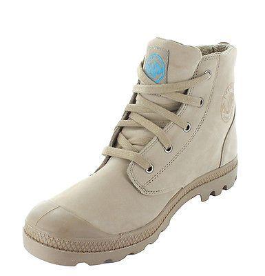 huge selection of 9fb65 4b4f9 PALLADIUM Wanderschuhe 37,5 / 42 taupe Trekking Boots Damen ...