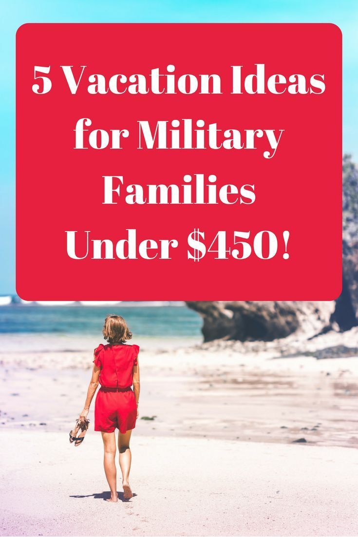 5 Great Vacation Deals for Military Families