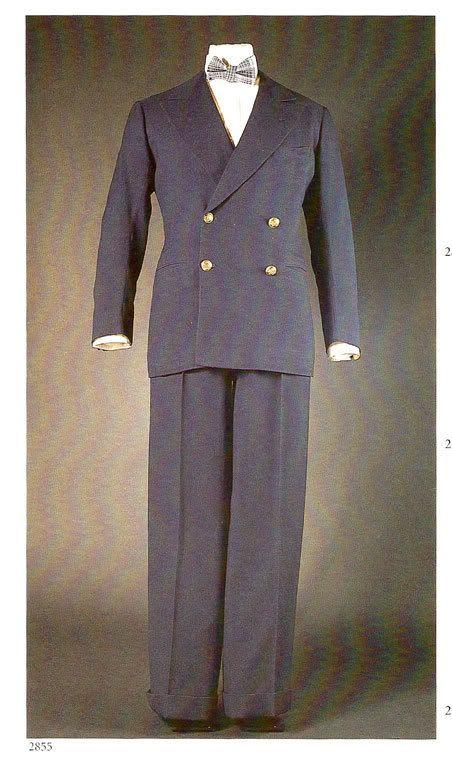 костюм в морском стиле мужской