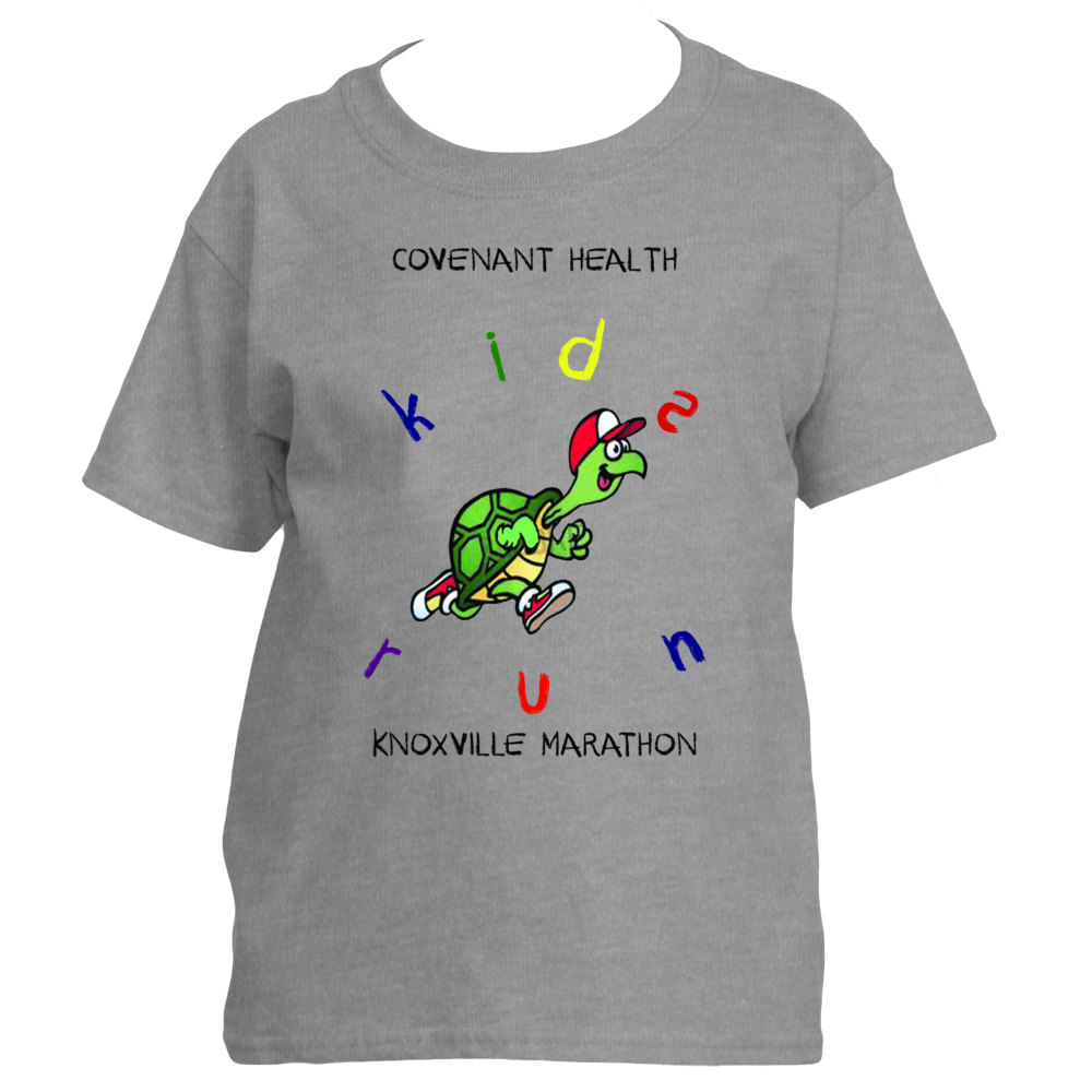 Covenant Health Knoxville Marathon Kids Run Tee Shirt Designs Shirt Designs Kids Running
