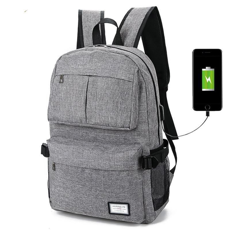 7f64f29b666e New USB Unisex Design Backpack Book Bags for School Backpack Casual  Rucksack Daypack Oxford Canvas Laptop Fashion Man Backpacks.