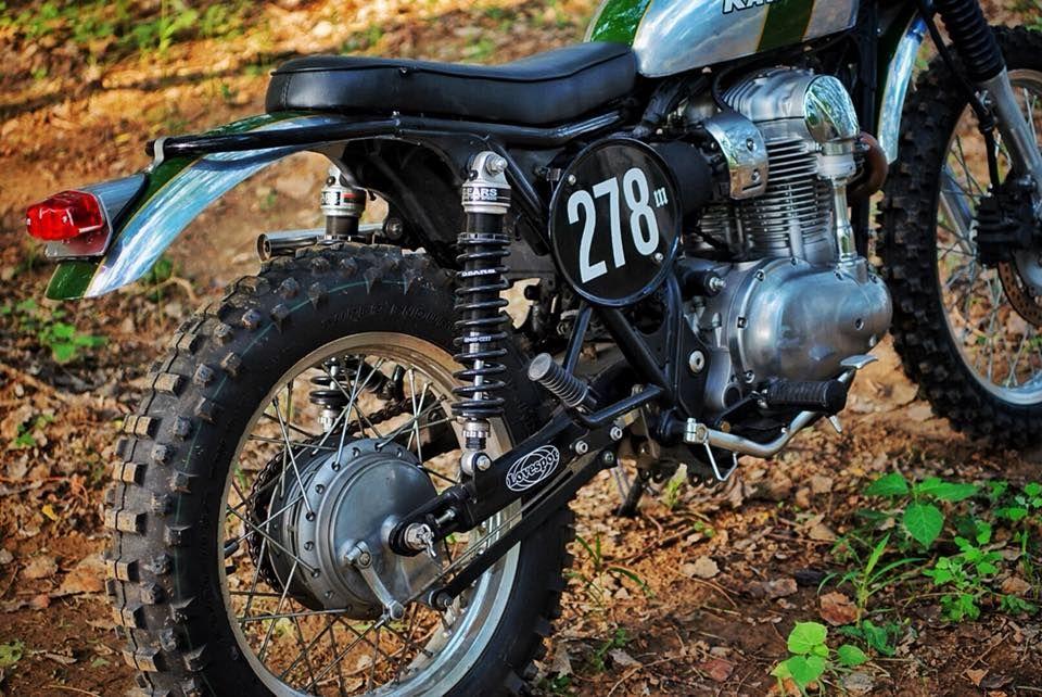 Kawasaki W800 Scrambler By Mandrill Garage Blog Bikes Kawasaki