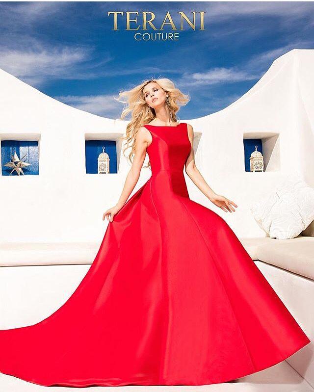 Terani Red Dress