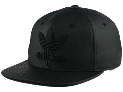 Adidas Originals Trefoil Plus Snapback Cap Street Fashion