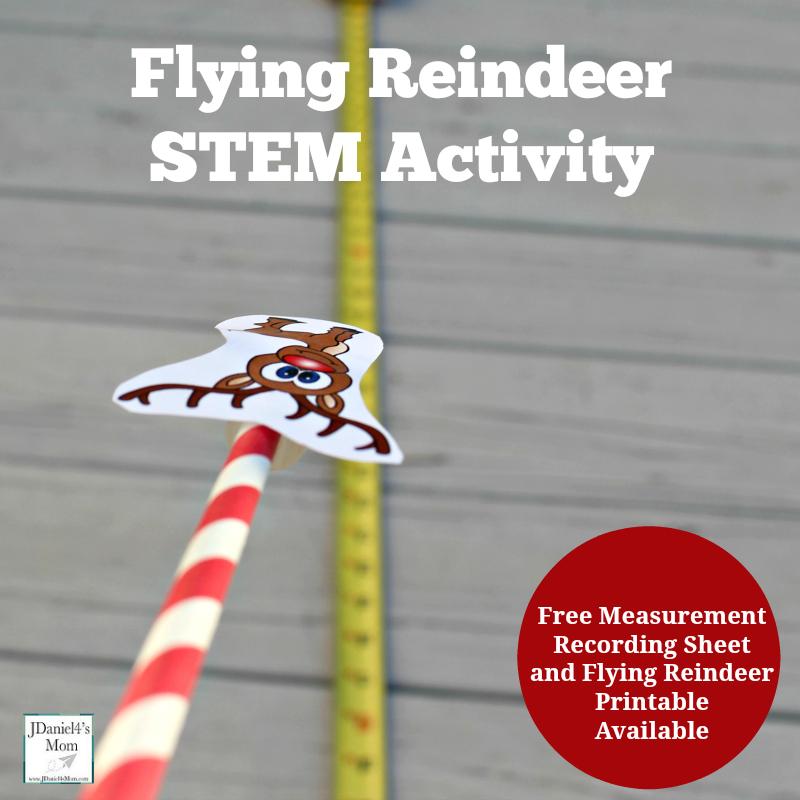 Flying Reindeer Stem Activity Christmas Activities