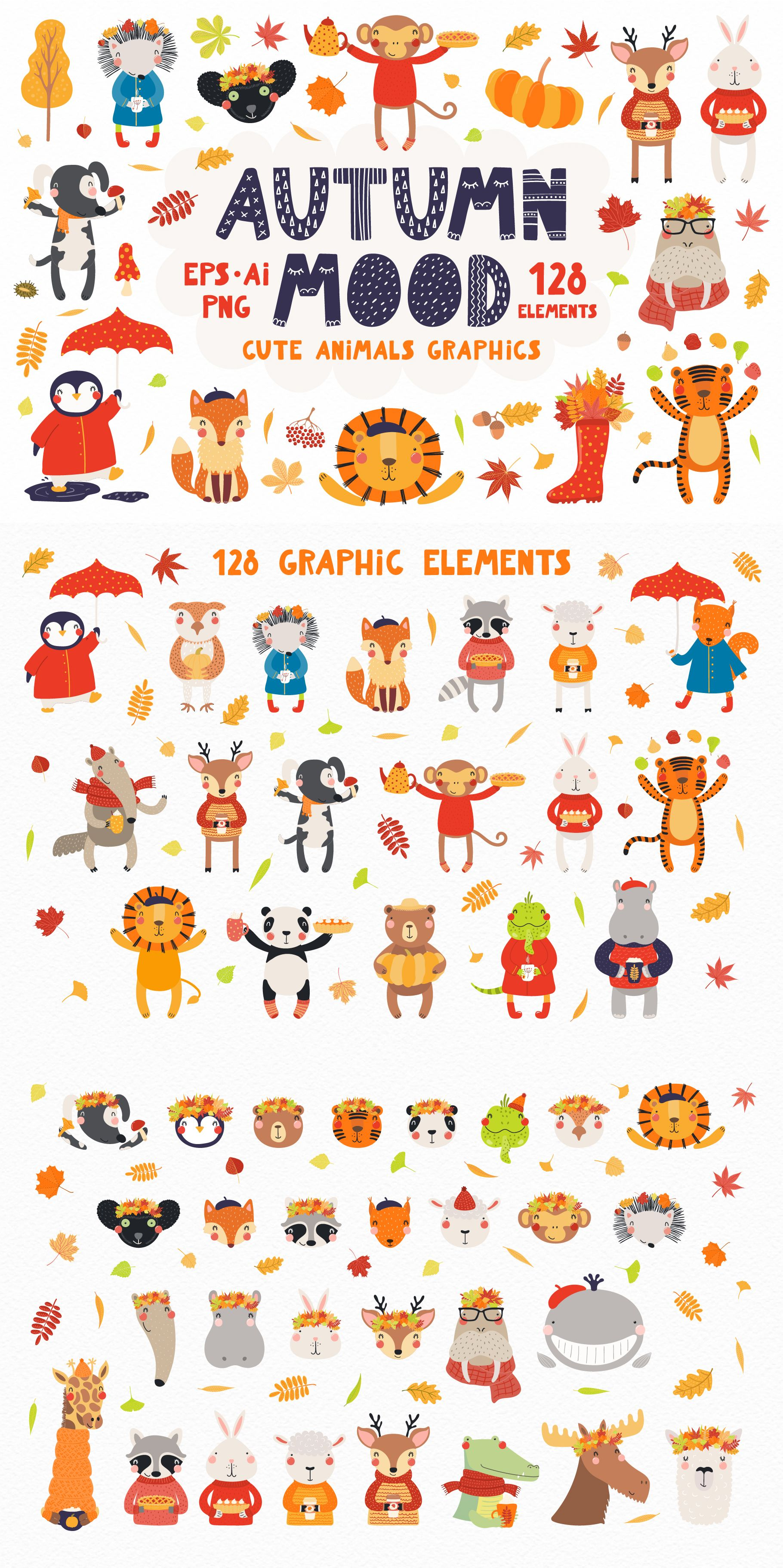 25+ Animals Wearing Clothes Clipart