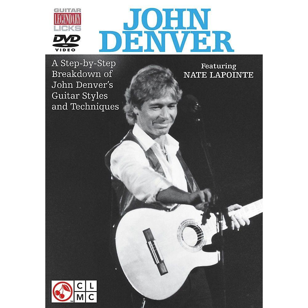 Cherry Lane John Denver Legendary Licks for Guitar DVD | John denver ...