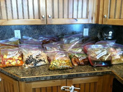 The Recipe Huntress: Repost of my 32 meals in 3 days