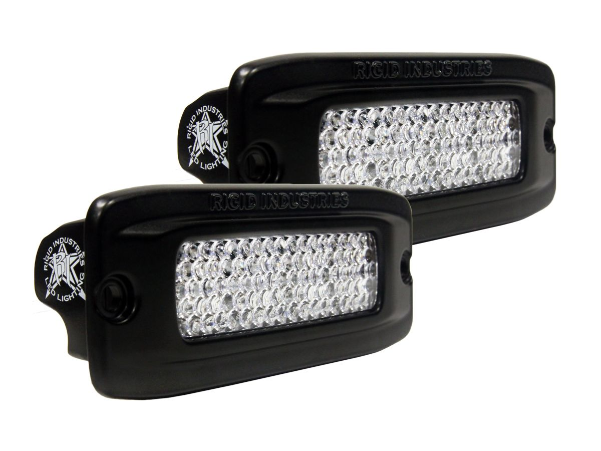 Rigid Industries LED Lighting SRQ Flush Mount Back Up Light Kit