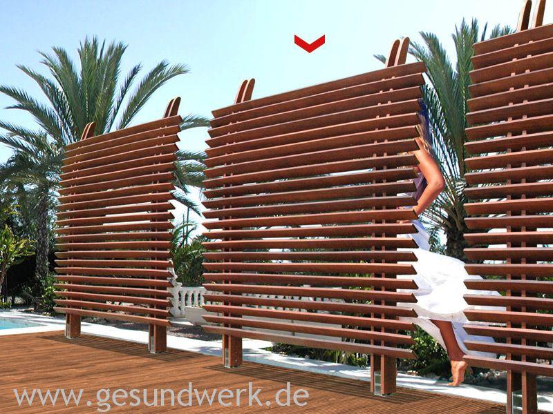 Bild von Joda Jalousiezaun Eucalyptus FSC100 Dubai
