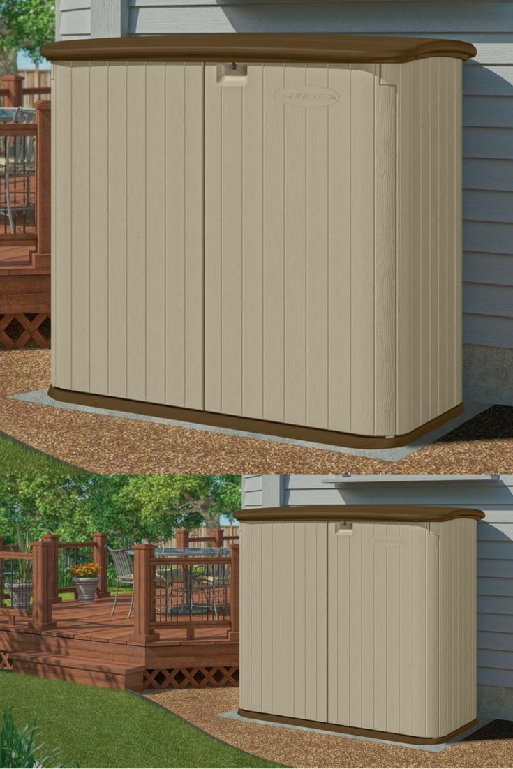 Amazing Outdoor Patio Storage Cabinet Low Maintenance Resin Interior Design Ideas Gentotthenellocom