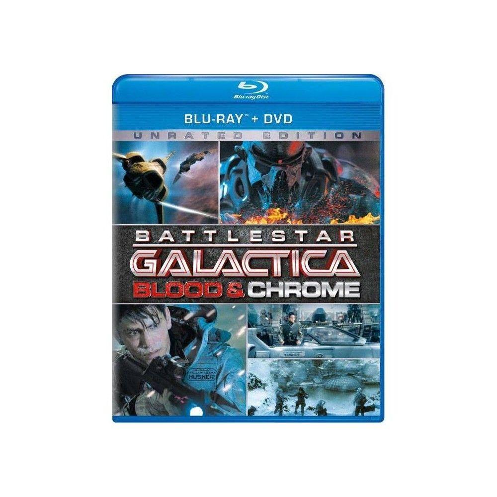 Battlestar Galactica Blood Chrome Blu Ray Battlestar
