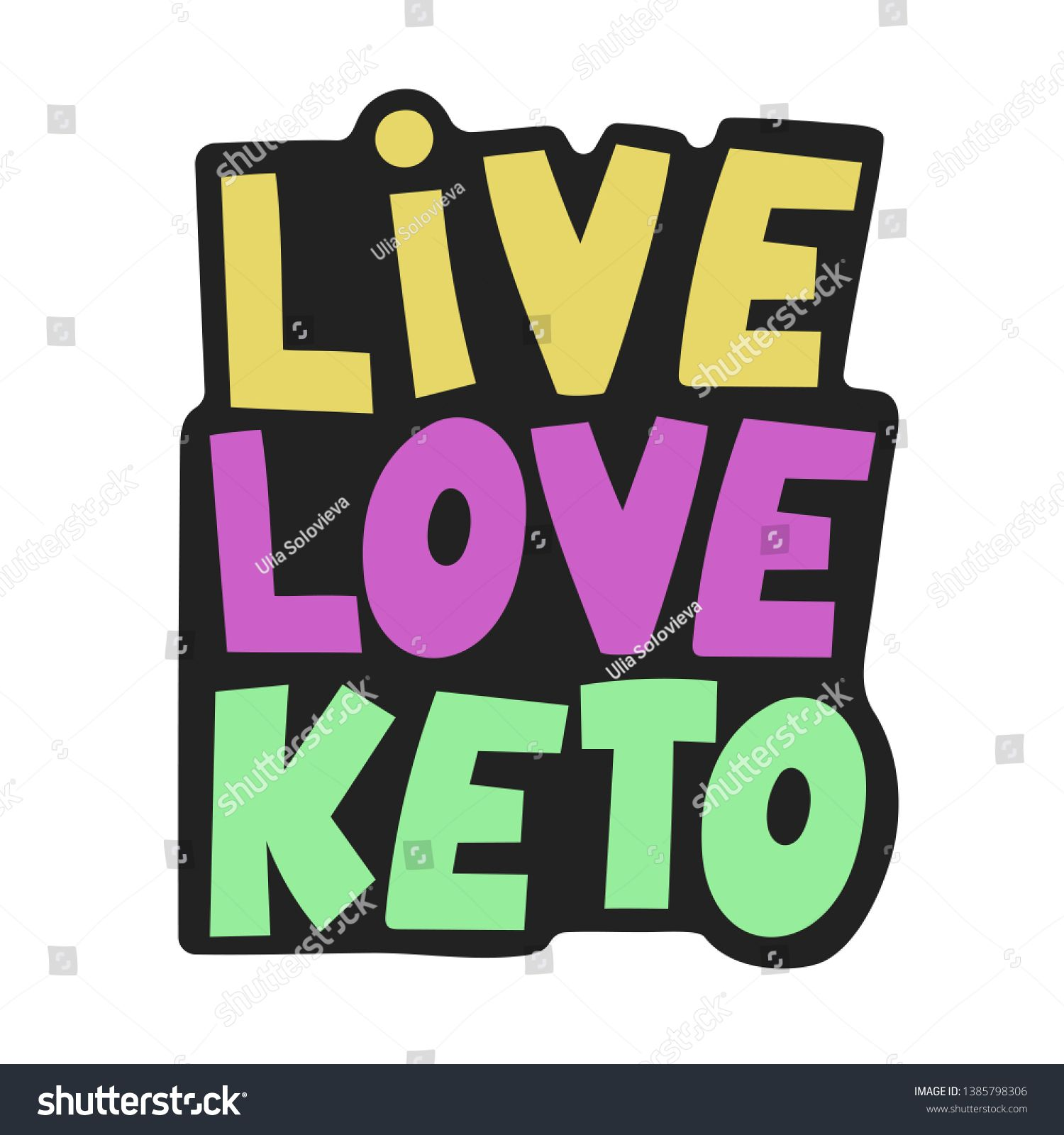 keto diet is how i live