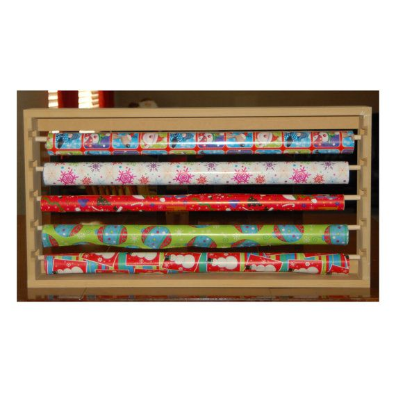Wall Hanging Wrapping Paper Holder Organizer Wrapping Paper Storage Gift Wrap Organization Diy Wrapping Paper Storage