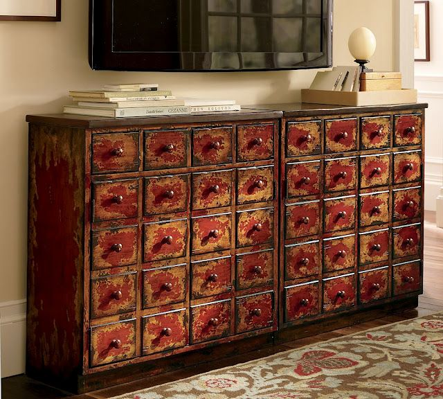 Beautiful Apothecary Cabinet Pottery Barn