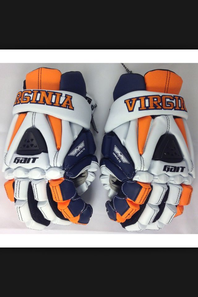 Sick Virginia Lax Gloves By Gait Lax Equipment Lacrosse