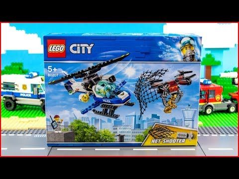 Lego City 60207 Drone Chase Construction Toy Unboxing Lego