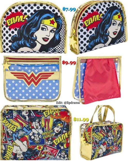 Spotted In-Store: Walgreens Wonder Woman Beauty Collection (Makeup, Nail Polish, Bags & Hair Accessories)