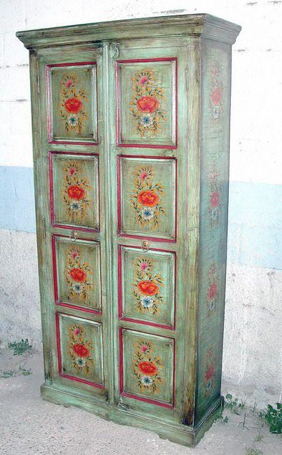 Resultado de imagen para muebles pintados con chalk paint - Armarios pintados a mano ...