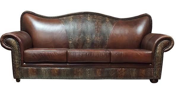 Old West Tobacco Sofa | Western Sofa & Loveseats in 2019 ...