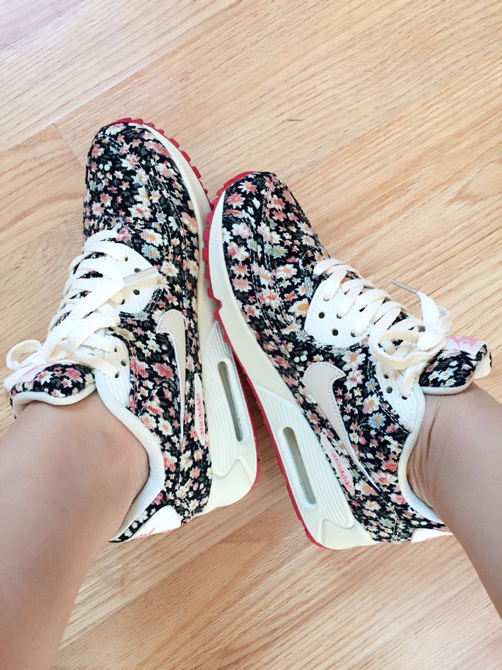 Floral nike airmax 90 my new favorite floral nikes